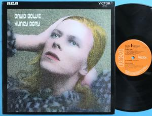 DAVID BOWIE - Hunky dory UK-orig LAMINATED cover LP 1971