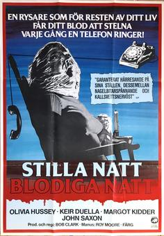 BLACK CHRISTMAS or SILENT NIGHT, EVIL NIGHT (1974)