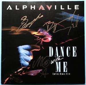 "ALPHAVILLE - Dance with me SIGNERAD 12"" 1986"