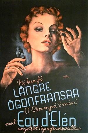 EAU D´ELEN - längre ögonfransar (1940-tal)