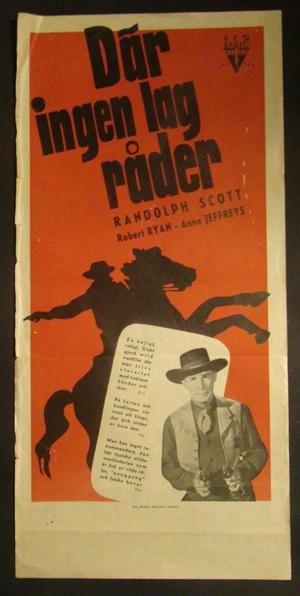 DÄR INGEN LAG RÅDER (1947)