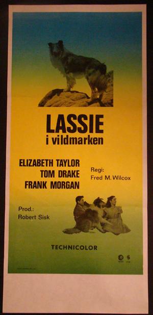 COURAGE OF LASSIE (ELIZABETH TAYLOR )