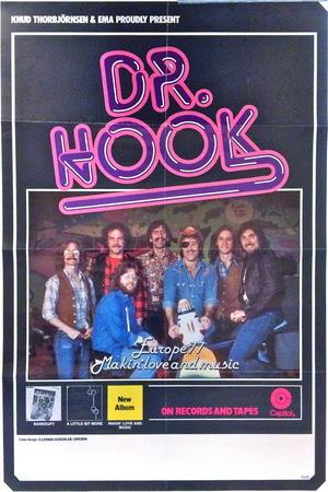 DR. HOOK (1977) Konsertaffisch