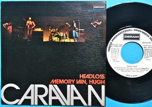 CARAVAN - Memory loss Spain Rare Promo PS 1974