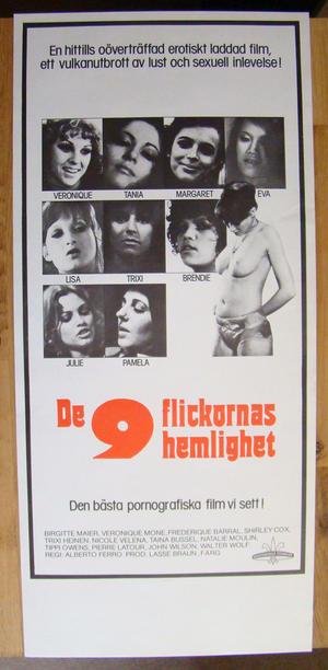 De 9 flickornas hemlighet  (1976)
