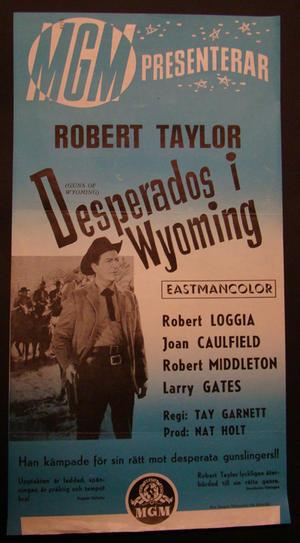 DESPERADOS I WYOMING (ROBERT TAYLOR, ROBERT LOGGIA)