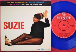 SUZIE - Ung och så förälskad +3 Swe EP 1965