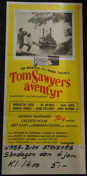 TOM SAWYERS  (JOHNNY WHITAKER)