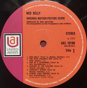 ROLLING STONES - MICK JAGGER - Ned Kelly UK-orig LP 1970