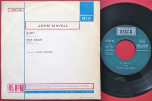 JOHN MAYALL - 2.401 Spanien PS 1968
