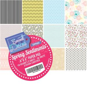 Sweet Dixie - Spring Sentiments - paper pad