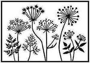 Nellie Snellen - Embossing folder - Dandelions