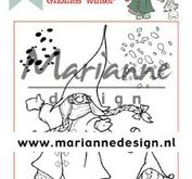 Marianne Design - Clearstamp -tomtemor