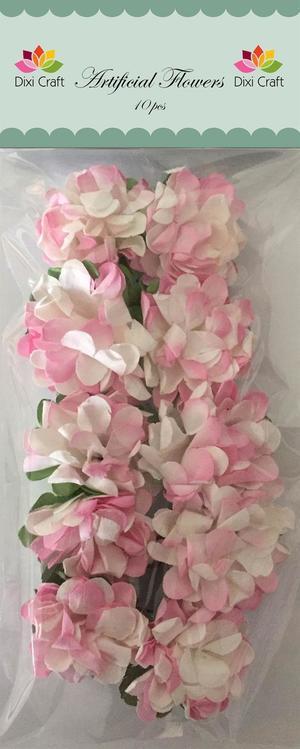 DixiCraft - Blommor - rosa