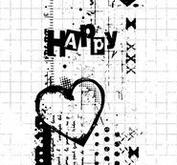 Studio Light - Clear Stamp - Grunge Collection-410