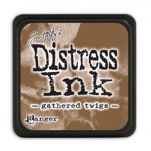 1 st stämpeldyna Distress Ink - gathered twigs - mini