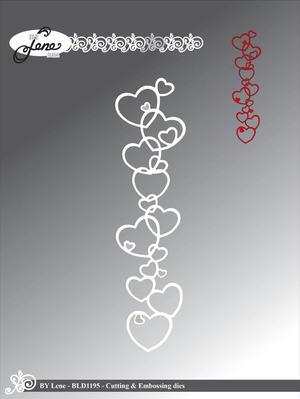 By Lene - Heart border