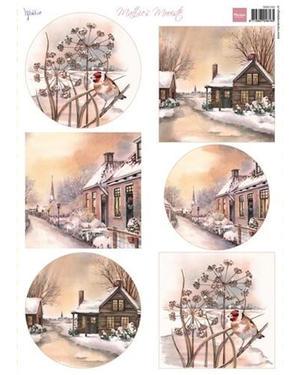 Marianne Design - Klippark - Mattie`s beautiful Winter villages