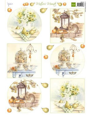 Marianne Design - Klippark-beautiful autumn bouquets