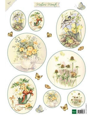 Marianne Design - Klippark-Beautiful Flowers 2