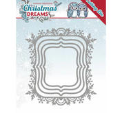 Yvonne Creations - Christmas Dreams - Snowfalke Rectangle