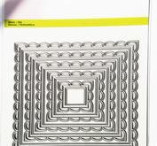 CE - Big Nesting Die - open squares scalop XL