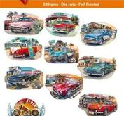 Easy 3D toppers - vintage cars