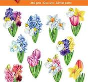 Easy 3D toppers -flowers in spring