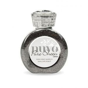 Tonic Nuvo pure sheen glitter 100ml  Steel grey