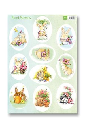 Marianne Design - Klippark-Sweet Bunnies