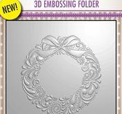 Nellie Snellen - 3D embossingfolder -wreath