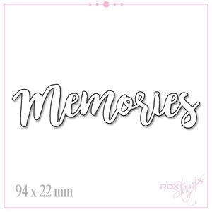 ROX Stamps - Die - Memories