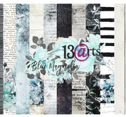 13@rts -  Paper Collection Blue magnolia
