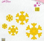 Nellie Snellen Shape die -snowflakes