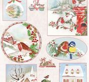Marianne Design - Klippark-Christmas cozy ewk1271