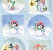 Marianne Design - Klippark-Hettys snowmen-hk1705