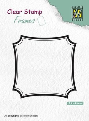 Nellie Snellen - Clear Stamp - Frame -01