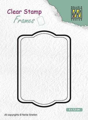Nellie Snellen - Clear Stamp - Frame -02