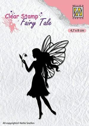 Nellie Snellen - clearstamp - Silhoutte - Fairy tale 7