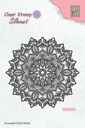 Nellie Snellen - Clear Stamp -Mandala 4
