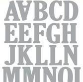 CE Uppercase  Alphabet, ca 1,5 cm höga
