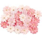 Blommor Prima -   Fruit Paradise Mulberry Paper Flowers - Fresh Tangerine
