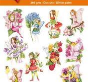 Easy 3D toppers -Garden Fairies
