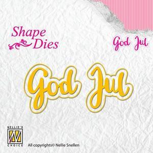 Nellie Snellen - Shape die - God jul (L)
