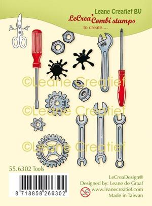 Leane Creatief - clearstamps - tools