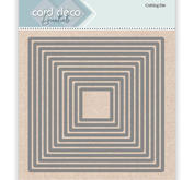 Card deco - Nesling dies - Square