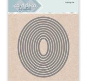 Card deco - Nesling dies - Ellipse