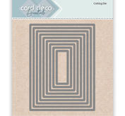 Card deco - Nesling dies - Rectangle