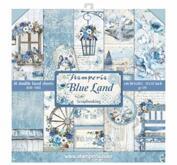 Stamperia - Blue Land