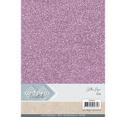 Card Deco - Glitterpapper - Pink
